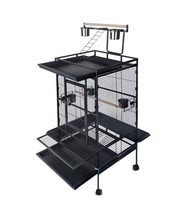 Brand New Parrot Bird Cage 170cm Black - Flipdeals